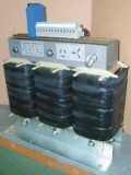 Three-phase transformer with thermal pellet