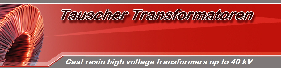 Cast resin high voltage transformers up to 40 kV