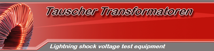 Lightning shock voltage test equipment