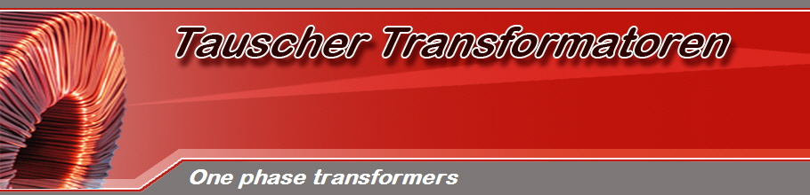 One phase transformers