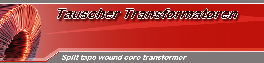 Split tape wound core transformer