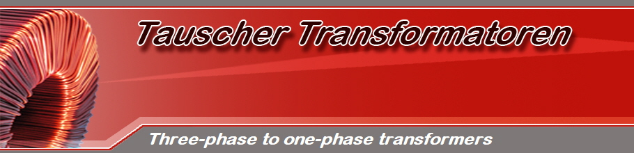 Three-phase to one-phase transformers