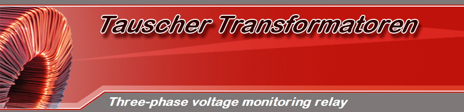 Three-phase voltage monitoring relay