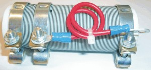High power wire resistor